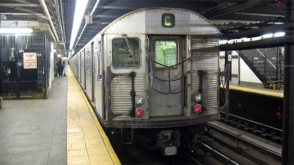 The C Train at 168th Street