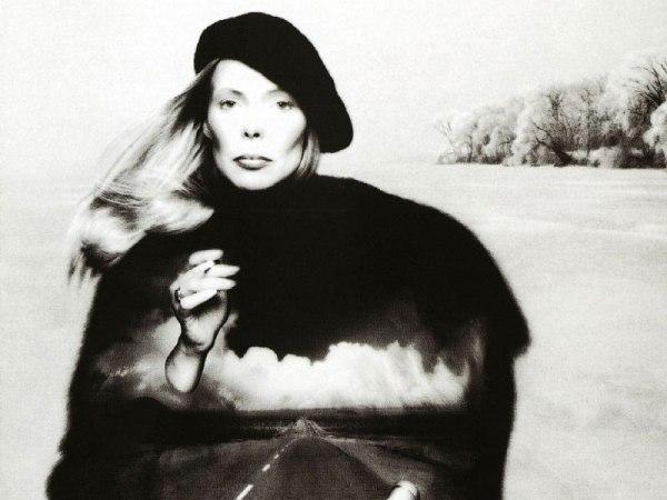 "Joni Mitchell's Hejira album featuring ""Amelia"""